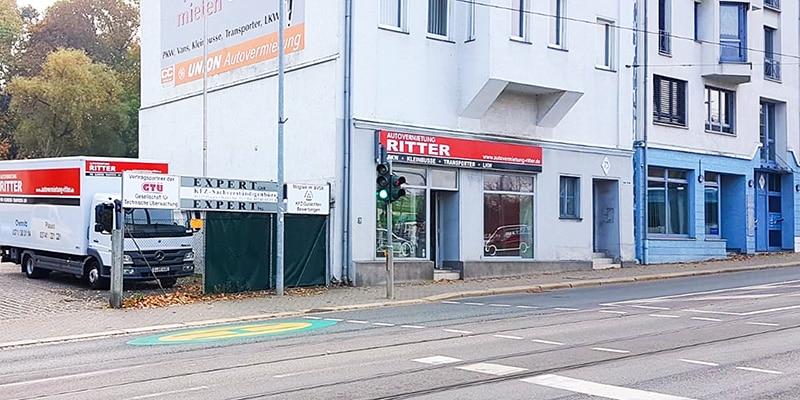 Autovermietung Ritter Plauen - Bürostandort